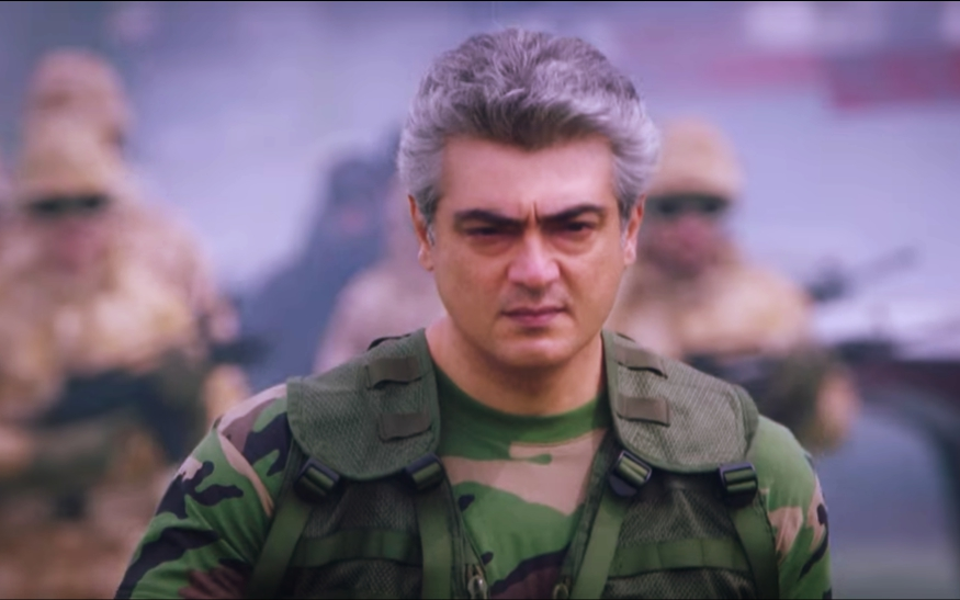 hd thala ajith latest army photo in vivegam mobile desktop downlaod background images